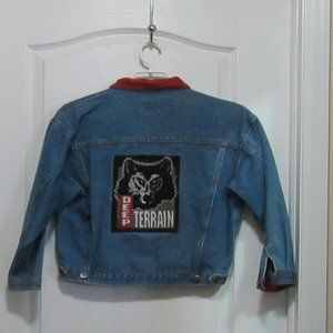 Other - Boys size XL jean coat with Corduroy trim
